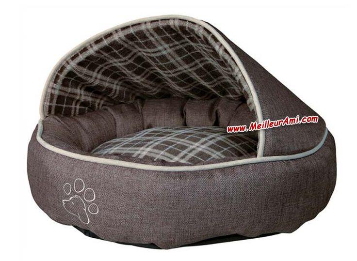 Accessoires Chiens > Couchages chiens > Niches intérieur > Lit cachette Timber diam 55 cm - MeilleurAmi.com® Sarl SINPAS