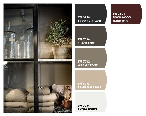 Chip it by sherwin williams greys and browns love the - Sherwin williams black fox exterior ...