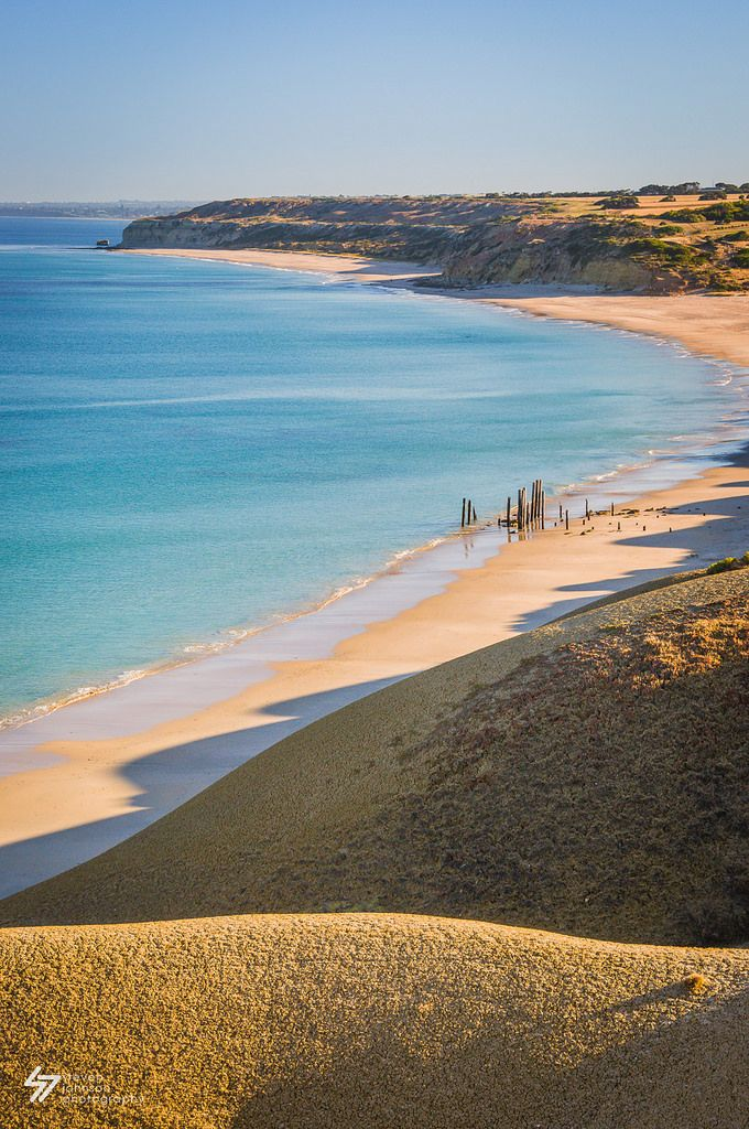 Port Willunga coastline, South Australia