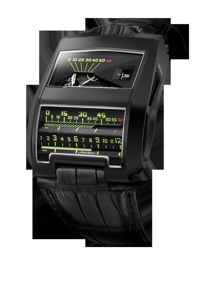 Urwerk:UR-CC1 AlTiN Black Cobra