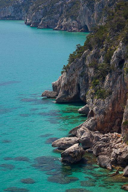 Cala Gonone Coastline, Sardinia, Italy