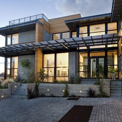 Modern energy efficient homes