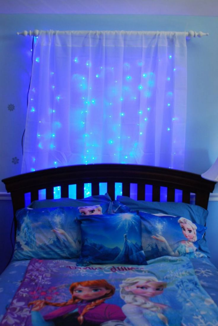 Frozen Themed Girls Room With Frozen Theme Bedding