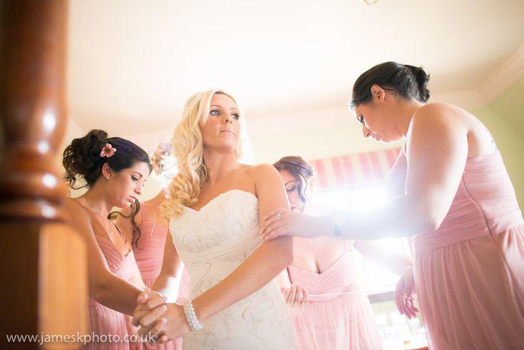 Bridesmaids and Brides. Dunston Hall Wedding, Norfolk. www.jameskphoto.co.uk
