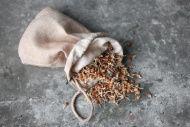 dirt(y) stuff | dirty food: 100% hemp sprouting bag