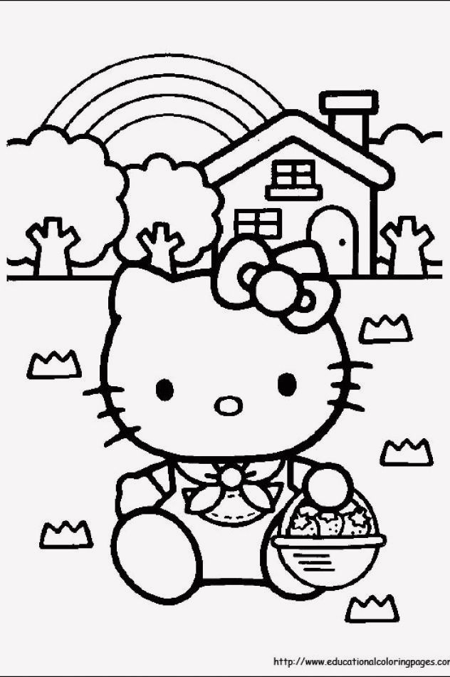 17 Coloring Pages Of Hello Kitty Hello Kitty Coloring Kitty Coloring Hello Kitty Colouring Pages