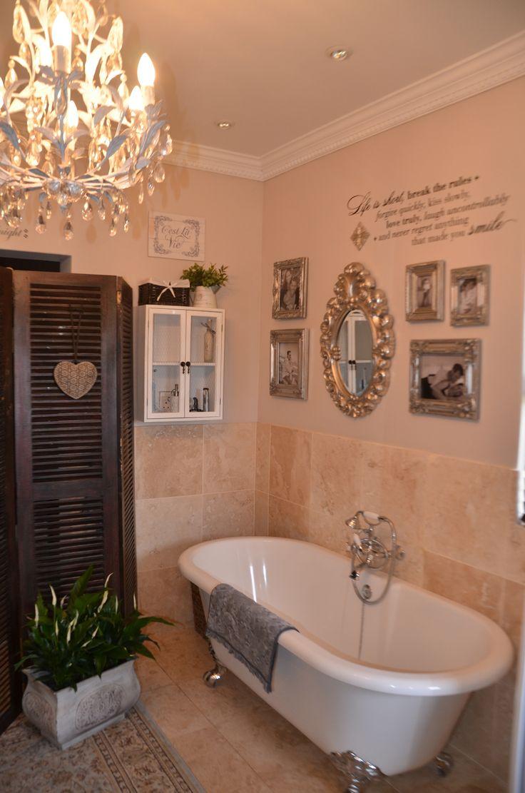 Shabby chic bathroom lighting - Romantic Vintage Shabby Chic Bathroom