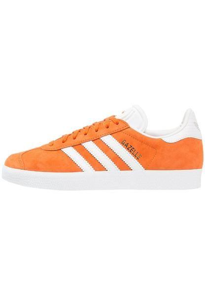womens-orange-adidas-originals-gazelle-trainers-tacora-white-gold-metallic