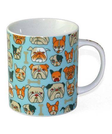 Another great find on #zulily! Blue Bulldog 8-Oz. Mug #zulilyfinds
