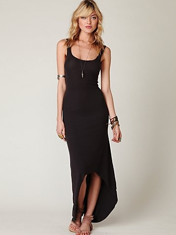 You can never go wrong with a black dress.