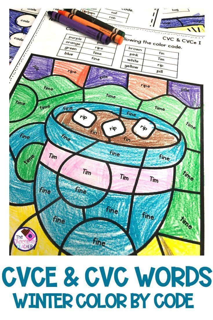 medium resolution of CVCE Activities   CVC Activities   Worksheets   Winter Activities   Phonics  kindergarten