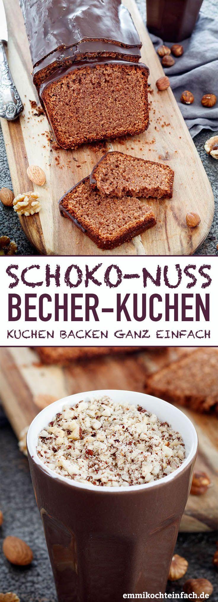 Schokoladen Nuss Cupcake – www.emmikochtinf …   – emmikochteinfach – Der Food-Blog mit einfachen Rezepten, die gelingen