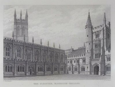 The Cloister, Magdalen College | Sanders of Oxford