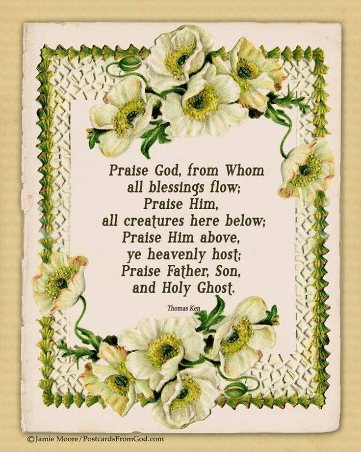 Lyric praise god from whom all blessings flow lyrics : 140 best Inspiration images on Pinterest | Acts 1, Amen and Bible ...