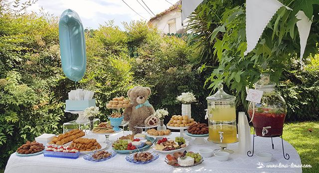 Lima Limão - festas com charme: 1º aniversário do Miguel: ursinho fofo!