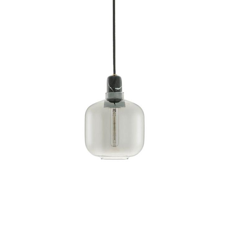 top3 by design - Normann Copenhagen - NM amp lamp small smoke black
