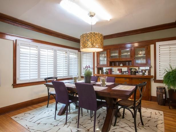 As seen on HGTV's Brother Vs Brother.  Episode 3:  #TeamJonathan Dining RoomDining Room
