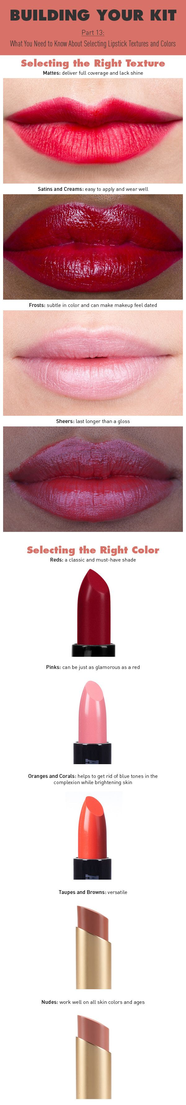 Building Your Kit Part 13: How To Create the Perfect Lipstick Collection