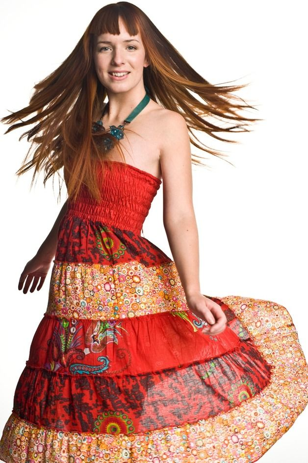 SUKIENKA CARMEN - PapayaLove - Sukienki bez ramiączek