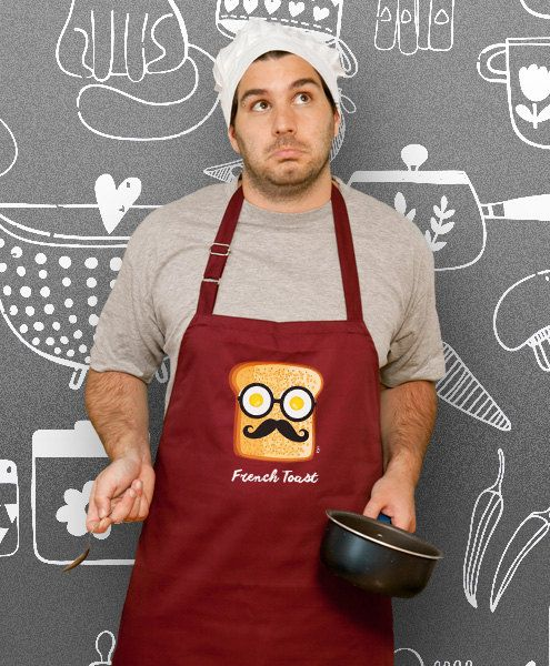 funny apron French Toast Cooking Apron Husband Awesome by store365