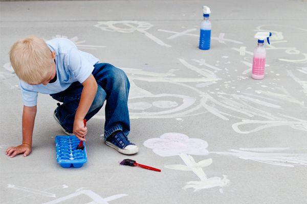 simple sidewalk paint and chalk spray chalk spray paint sidewalk paint. Black Bedroom Furniture Sets. Home Design Ideas