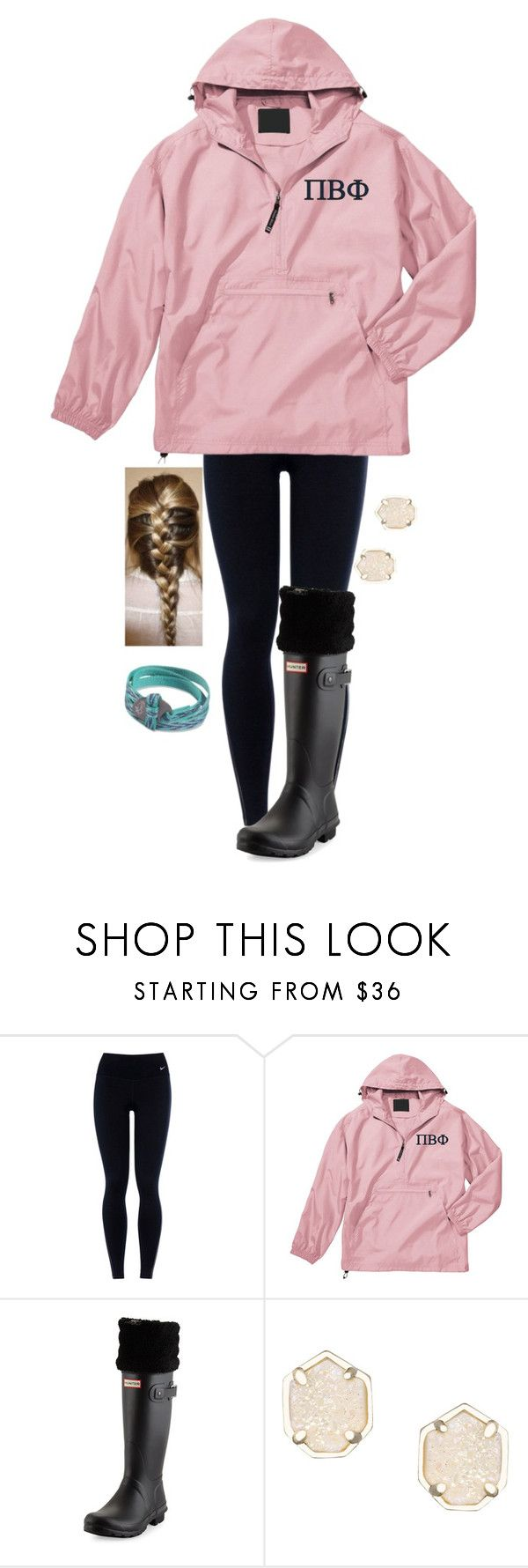 """""""Future πβφ"""" by madelynprice ❤ liked on Polyvore featuring NIKE, Hunter, Kendra Scott and Chaco"""