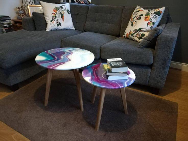 Unique Coffee Tables Epoxy Resin Art