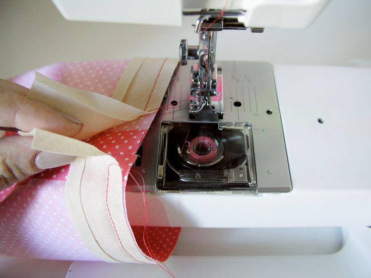 Sacar la labor con un margen sin coser