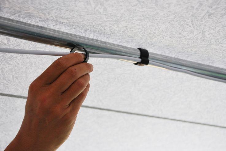 Handige kabelclips, voor het netjes wegwerken van snoeren e.d. #isabella #kamperen #verlichting #feelfree #pinterest #winactie