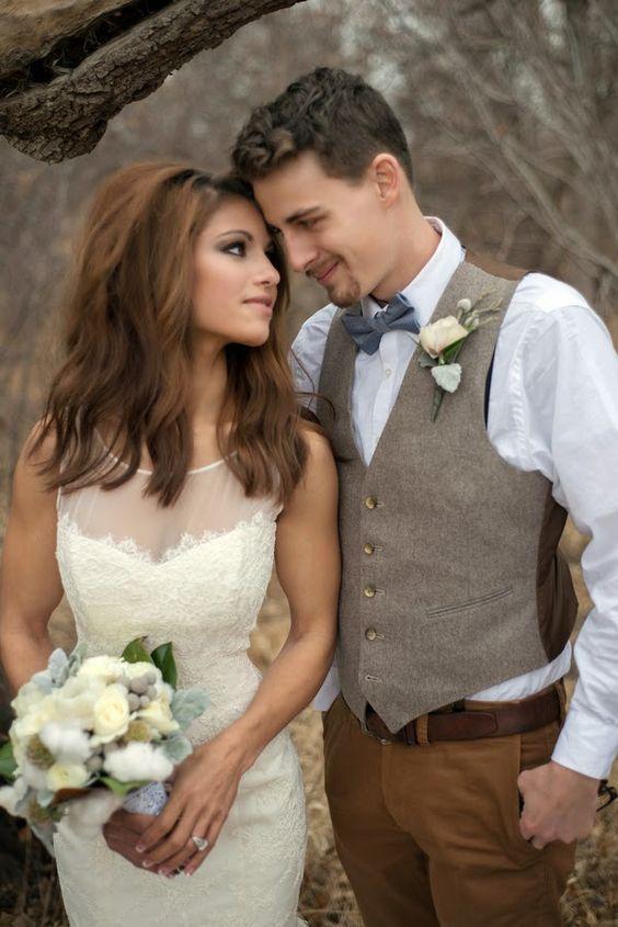 16 tenues pour le marié aux couleurs de l'automne ! #mariage #automne #marié