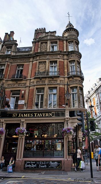 St James Tavern in Soho, London