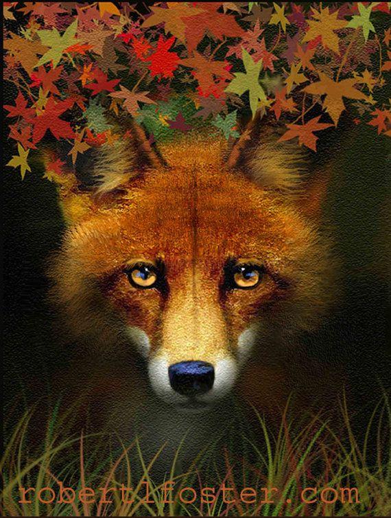 fox art print - Robert Foster