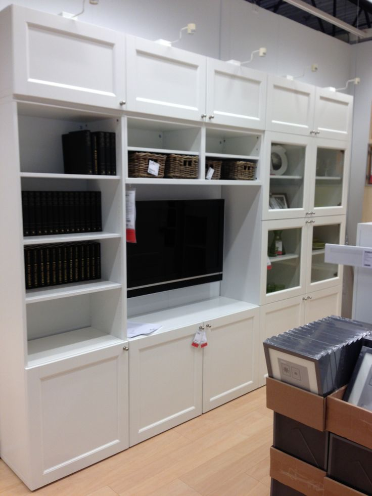 Ikea - 'built ins' for family room