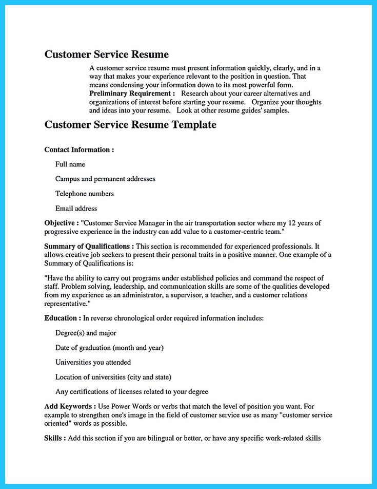 cool Well Written CSR Resume to Get Applied Soon, Check more at - animal control officer sample resume