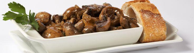 Few tapas taste more Spanish than champiñones al ajillo (ajillo mushrooms), dripping with olive oil, garlic and dry Spanish Sherry.