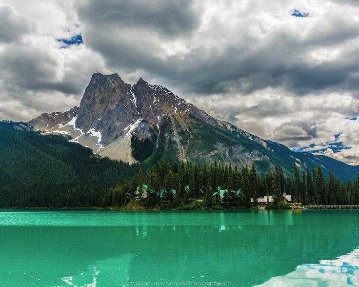 At Emerald Lake in Banff. #banff #alberta #travel