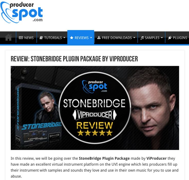 Thank you Producer Spot for the awesome review of my VIProducer virtual instrument! http://www.producerspot.com/review-stonebridge-plugin-package-viproducer