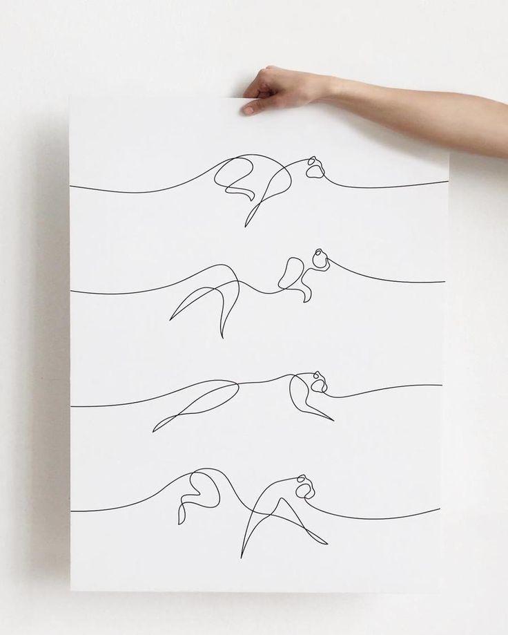 Diese Künstler zeichnen alles mit einem Strich #Tattoos
