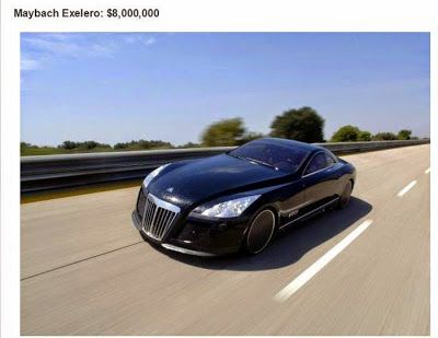 Maybach Exelero, The Most Expensive Car On Earth