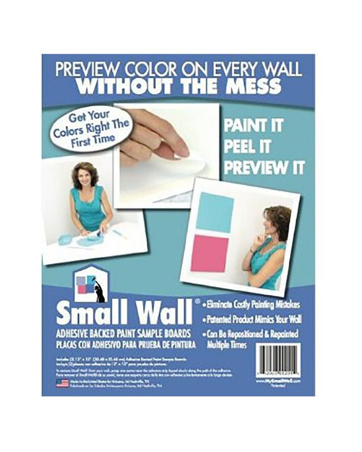 Small Wall Adhesive Backed Paint Sample Boards | SherwinWilliams