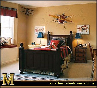 Decorating Theme Bedrooms Maries Manor Airplane Bedroom Aviation Themed Ideas Austin In 2018 Pinterest Room And