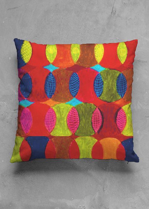 Interior Design Cushions in Original Pattern