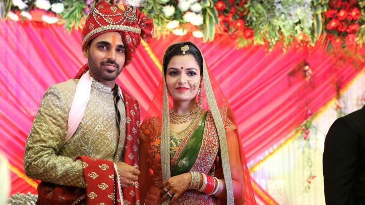 Bhuvneshwar Kumar and Nupur Nagar Get #Married in Meerut. Congratulation Bhuvi For #Happy Married Life