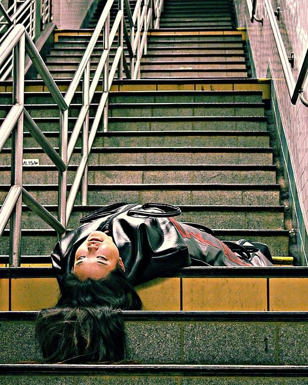 New York Subway   12 Fashionable Bodybags By MarkAllen