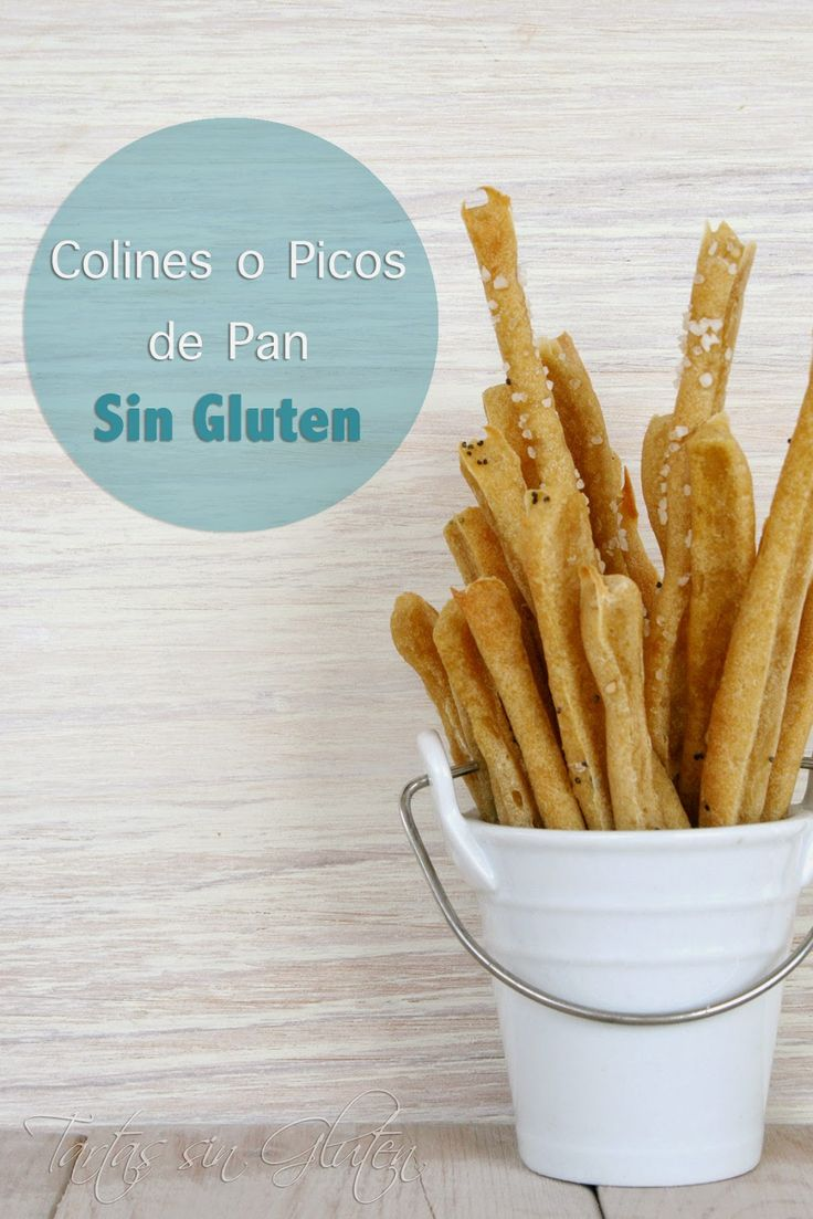 Tartas sin Gluten .....365 dias sin gluten: Colines o Picos de Pan ( Sin Gluten)