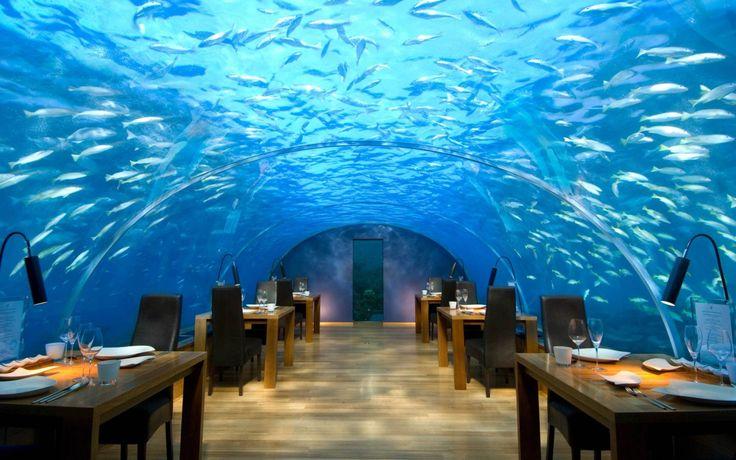 Wallpaper Hotel Subacvatic In Maldive