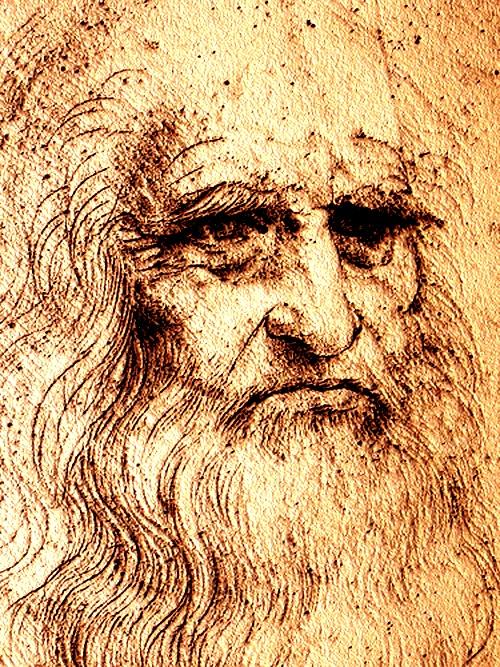 Leonardo Da Vinci Self Portrait Art Leonardo Da Vinci