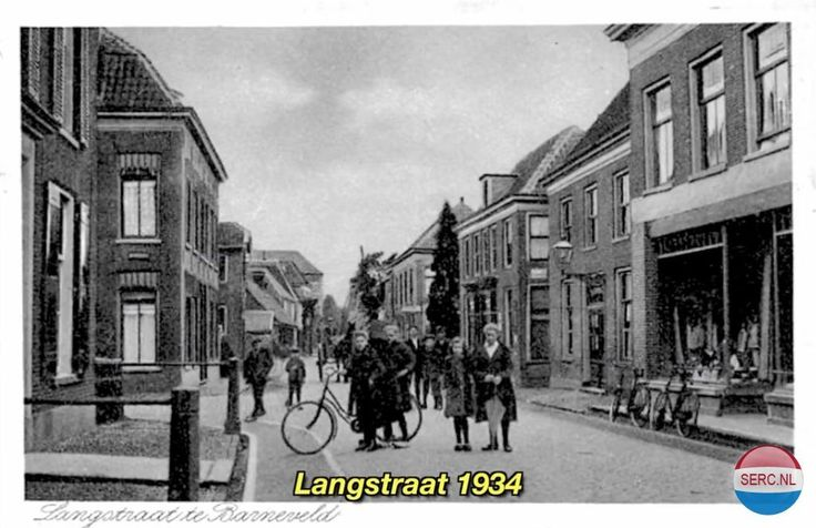 Langstraat Barneveld (jaartal: 1930 tot 1940) - Foto's SERC