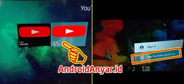 Cara Update Apk Youtube For Android Tv Mengatasi This Action Isn T Allowed Android Youtube Tulisan