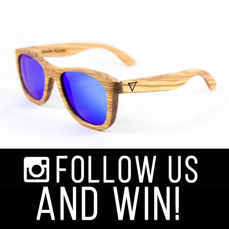 Find us on Instagram @woodenrepublic and be in the running for a chance to win a FREE pair of your very own Wooden Republic sunglasses. Yes we said FREE damn it! :)